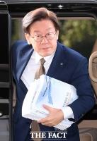 [TF포토] '조폭 연루설' 이재명 경기지사, 담담한 출근길