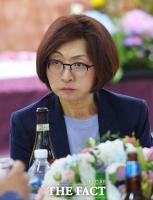 [TF포토] '조폭 연루설 논란 은수미'...성남시의회 기념식 참석