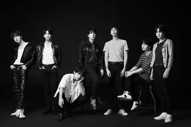 방탄소년단은 지난 5월 러브 유어 셀프 : 티어로 한국 그룹 최초 빌보드 앨범 1위를 차지한 영예를 안았다. /빅히트엔터테인먼트 제공