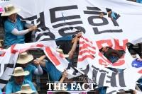 [TF포토] 불평등한 한·미 동맹 규탄하는 자주통일선봉대