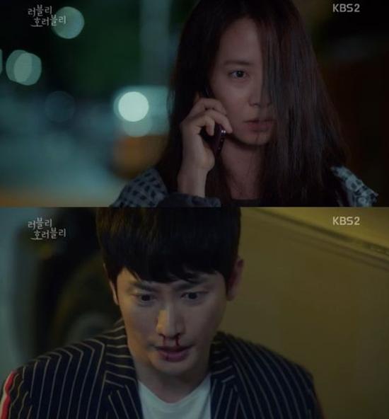 러블리 호러블리, 첫방 시청률 4.8%. 13일 첫 방송된 KBS2 러블리 호러블리가 시청률 4.8%(전국 유료 가구)로 쾌조의 스타트를 알렸다. /KBS2 러블리 호러블리 방송화면 캡처