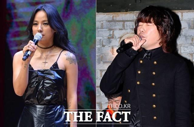 가수 이효리(왼쪽)와 김장훈(오른쪽)은 사회 전반적인 분야에 기부와 관심으로 대중들에게 귀감이 되기도 한다. 특히 김장훈은 독도지킴이로 수년간 활동 중이다. /더팩트 DB