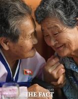[TF포토] '오손도손 다정하게!'…만남의 기쁨 나누는 이산가족