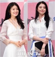 [TF포토] 남지현-한소희, '여신미 넘치는 화이트 드레스'