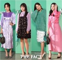 [TF포토] 성유리-고아성-한지혜-오연서, '가을을 입은 패션피플'