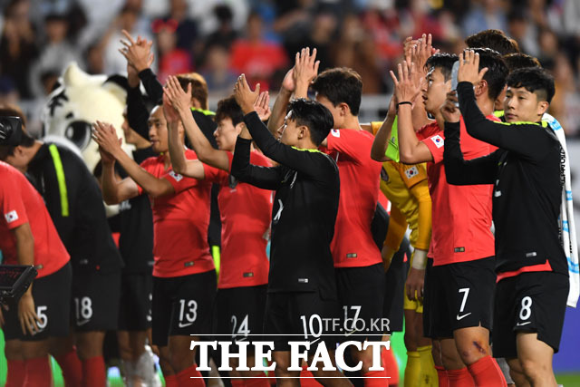 0-0 무승부, 아쉽지만 잘 싸운 한국팀