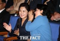 [평양회담] 김정숙-리설주 여사, '나란히 오케스트라 공연 관람'