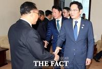 [평양회담] 이재용·최태원 등 北 리용남 내각부총리 면담