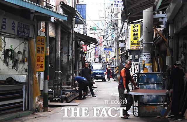 한국 산업화의 중심에 섰던 공구상가는...
