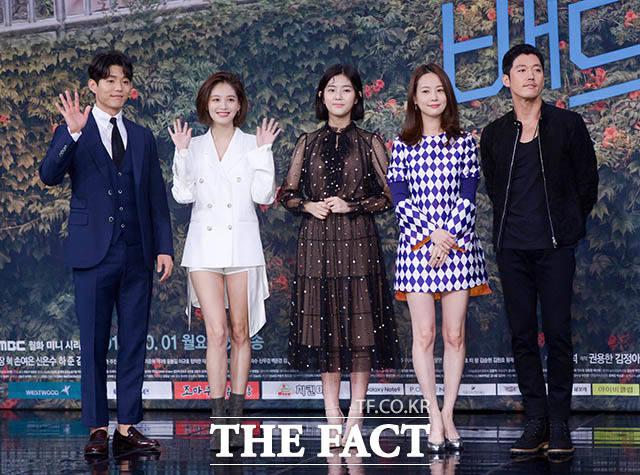 배우 하준과 김재경, 신은수, 손여은, 장혁(왼쪽부터)