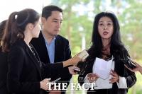 [TF포토] 김부선-강용석, '이재명 지사에 손해배상 청구'