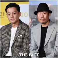 [TF포토] '예능 블루칩' 이서진-유해진, '본업으로 복귀했습니다!'
