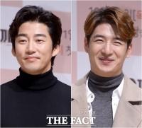 [TF포토] 윤계상-손호영, '아이돌계 원조 얼굴 천재들'
