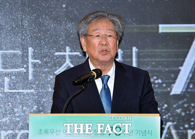 최불암 초록우산 어린이재단 전국후원회장