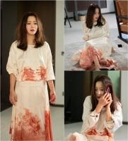 [TF미리보기] '나인룸' 김희선, 피투성이 흰 드레스…무슨 일?