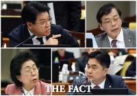 [TF포토] 대검 국감에서 날선 질문 이어가는 의원들