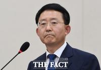 [TF포토] 하석주 롯데건설 사장, '굳게 다문 입'