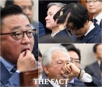 [TF사진관] CEO들의 피곤한 국정감사