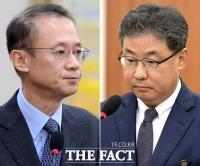 [TF포토] 국정감사 증인으로 출석한 '이영훈-이상묵'