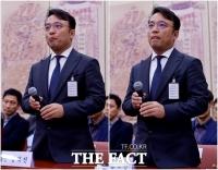 [TF사진관] 긴장한 표정 역력한 김택진 엔씨소프트 대표
