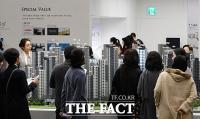 [TF포토] 북적이는 래미안 리더스원 견본주택, 강남 재건축 마지막 '로또 청약'