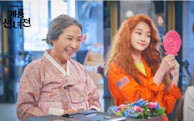 계룡선녀전으로 1인 3역에 도전하는 미나/tvN 제공