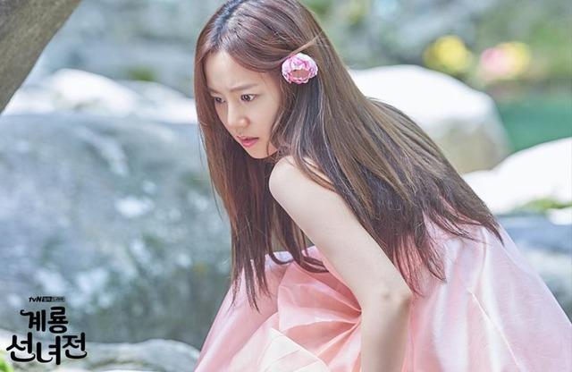계룡선녀전의 주인공 문채원. /tvN 제공