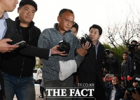 [TF포토] 체포 된 '엽기행각' 양진호 회장
