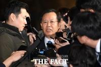 [TF포토] 검찰 출석하는 박병대 전 대법관
