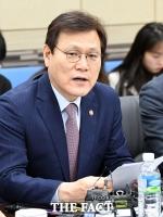 [TF포토] 최종구, '성장성 특례 상장 1호 기업에서 현장간담회'