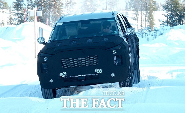 현대차는 오는 11월 28일로 예정된 미국 LA모터쇼에서 대형 SUV 팰리세이드를 전 세계 최초로 공개할 예정이다. /현대차 제공