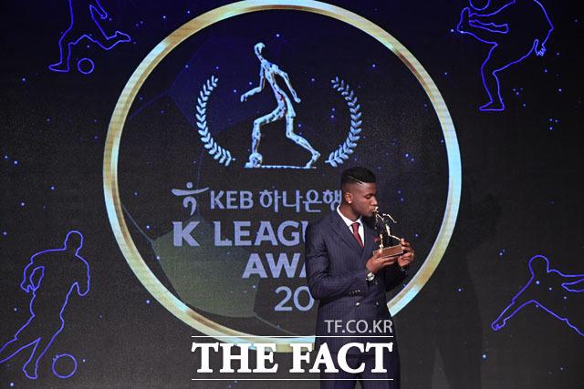 K리그1 MVP를 수상한 경남FC 말컹