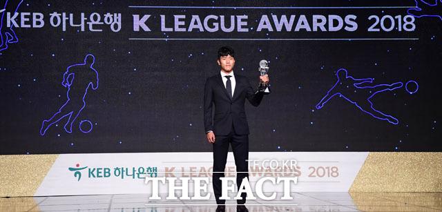 K리그2 MVP를 수상한 광주FC 나상호