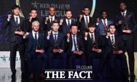 [TF포토] '2018년을 빛낸 K리그 베스트 11'