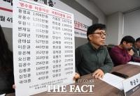 [TF포토] '영수증 이중제출 부정수급 국회의원 26명 명단 공개'