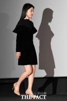[TF포토] 박혜수, '그림자까지 아름다운 블랙 원피스'