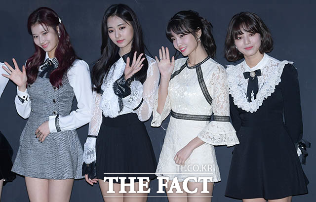 사나-쯔위-모모-지효, '상큼한 미녀들'