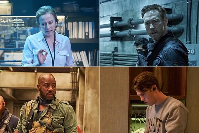 배우 제니퍼 엘(왼쪽 위부터 시계방향으로) 케빈 두런드, 스펜서 다니엘스, 마릭요바 등이 영화 'PMC:더 벙커'에 출연한다.  /CJ엔터테인먼트 제공