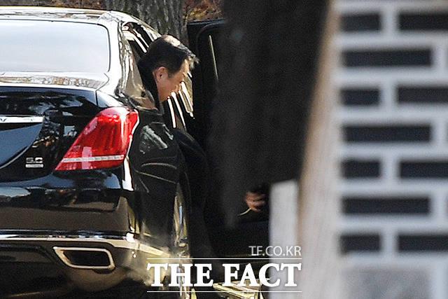 박서원 대표의 부친 박용만 두산인프라코어 회장.