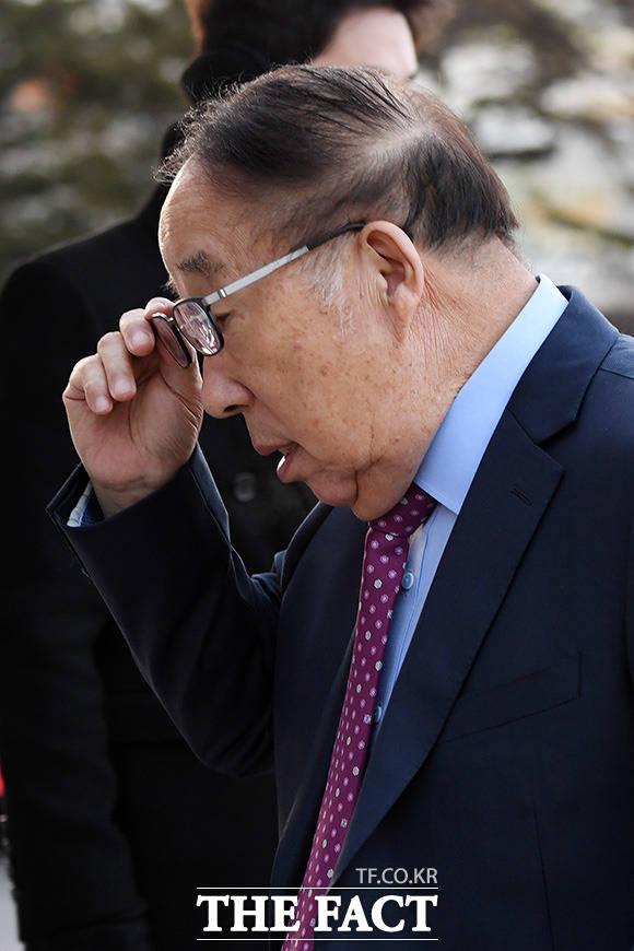박용성 전 두산중공업 회장.