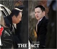 [TF포토] '박서원-조수애' 결혼식 참석하는 두산家