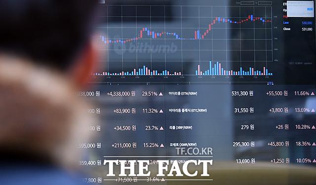올 초 2800만 원까지 치솟았던 비트코인 가격이 근 10개월 새에 6분의 1 수준으로 급락했다. 16일 오후 기준으로 비트코인 가격은 360만 원선을 기록하고 있다. /이새롬 기자