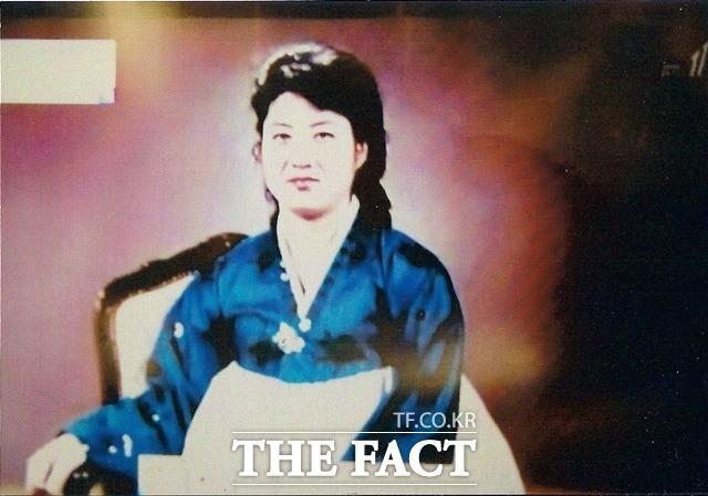 김 위원장의 친모 고용희의 초상화. /정성장 세종연구소 수석연구위원 제공