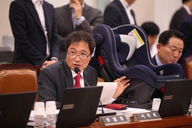 이학재 바른미래당 의원이 18일 기자회견을 열고 자유한국당 복당을 선언하기로 했다. 사진은 이학재 의원의 모습. /이학재 의원 페이스북
