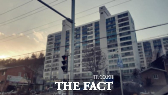 정윤회 씨가 거주하고 있는 횡성 둔내의 모 아파트. /이원석 기자