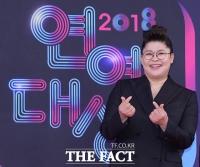 [TF포토] '예능 여왕' 이영자, '대상 후보의 여유로운 미소'