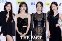[TF포토] '4人4色, 여신들의 블랙 섹시룩!'
