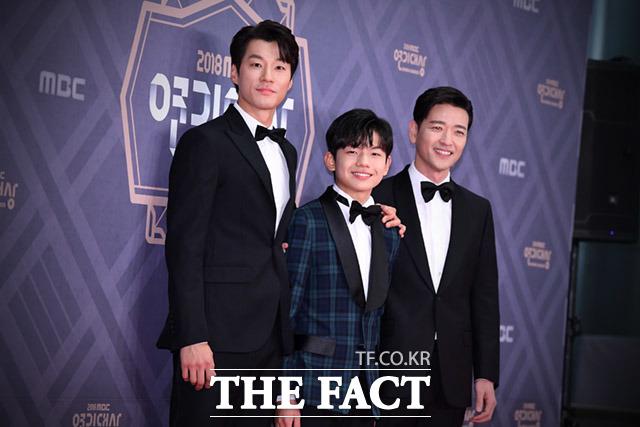 드라마 신과의 약속의 이천희와 왕석현, 배수빈(왼쪽부터)