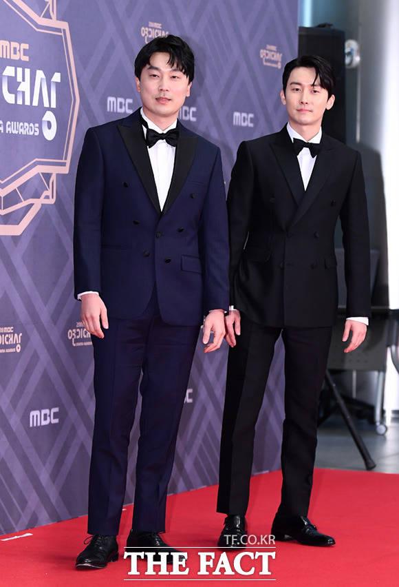 드라마 시간 의 서현우(왼쪽)과 김준한