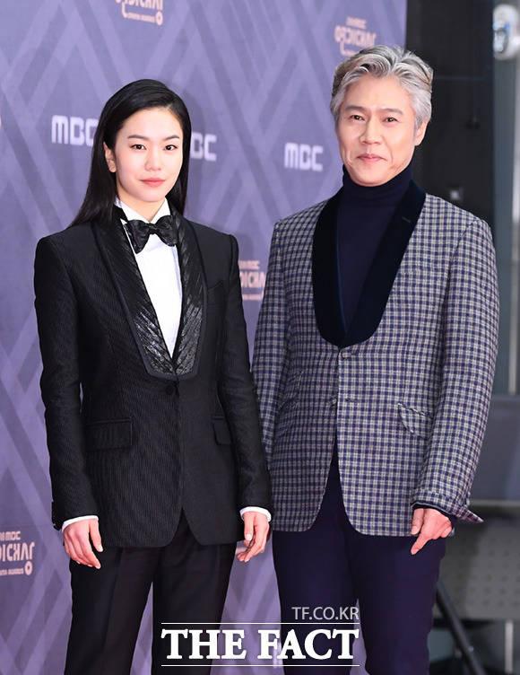 드라마 나쁜 형사의 이설(왼쪽)과 박호산